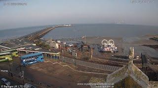Ryde Esplanade \u0026 Pier, Isle of Wight UK | Railcam LIVE
