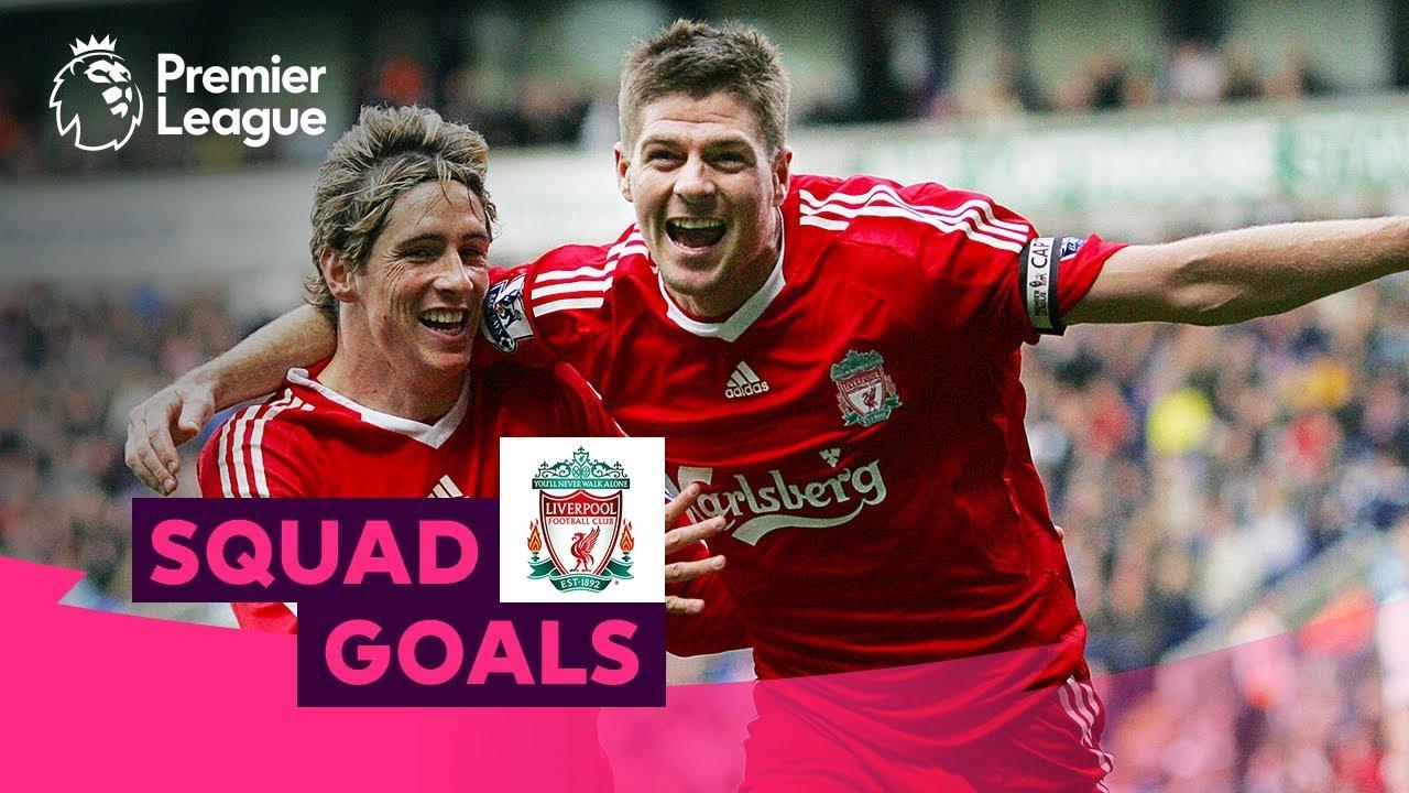 Unbelievable Liverpool Goals | Gerrard, Torres, Salah | Squad Goals