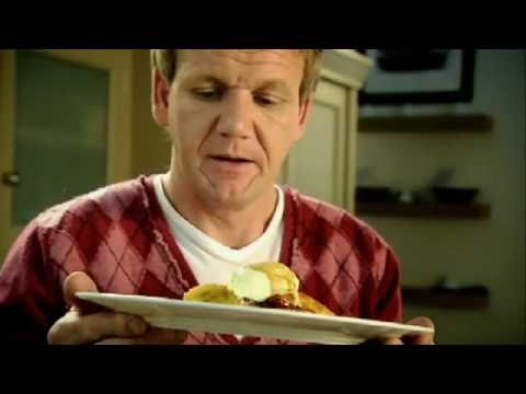 Scotch Pancakes with Caramelised Banana - Gordon Ramsay