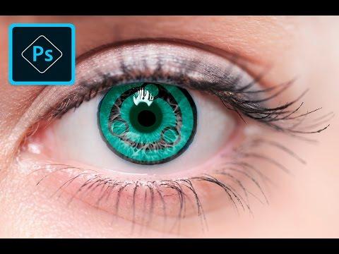 Photoshop CS6 Tutorials-How to Make Sharingan Eye