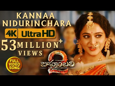 Xxx Mp4 Kanna Nidurinchara Video Song Baahubali 2 Video Songs Prabhas Anushka 3gp Sex