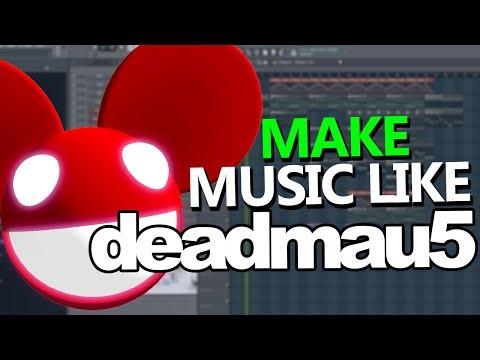 How To Make Music like deadmau5 (Chords & Arpeggios) - FL Studio Tutorial