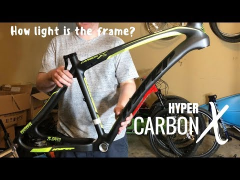 Hyper Carbon X Frame - How much does it weigh?