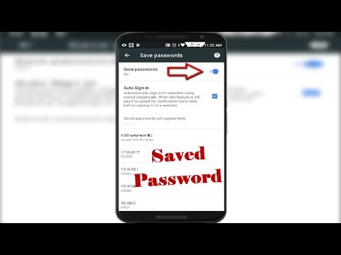 How to FindOut Forgotten Saved Websites Password in Google Chrome in Android 2018