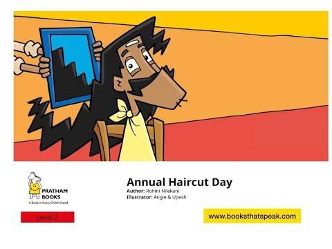 Annual Haircut Day - English Story - Pratham Books