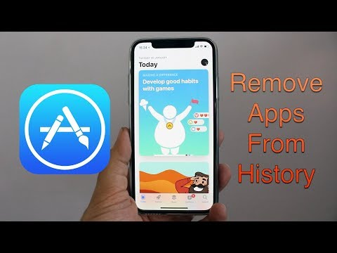 Remove Apps From App Store Purchase History