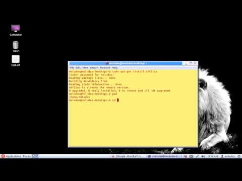 uif to iso converter  in Ubuntu Linux (Bengali Version)