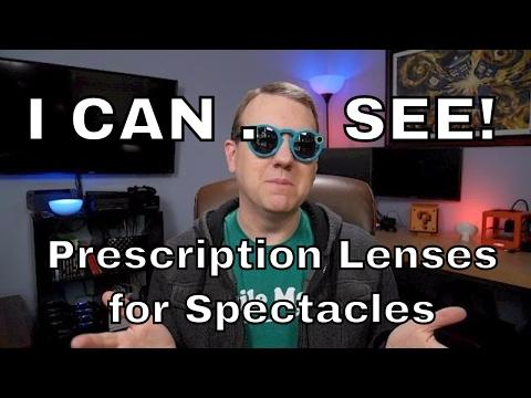Prescription Sunglasses Lenses for Snapchat Spectacles!