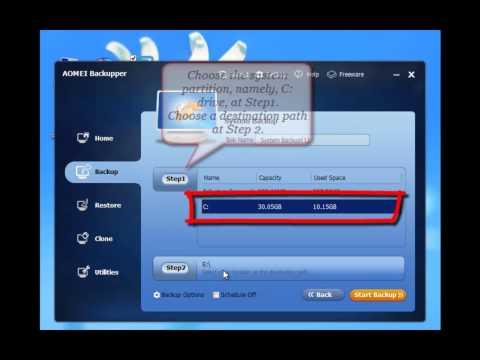 Create System Image Windows 8
