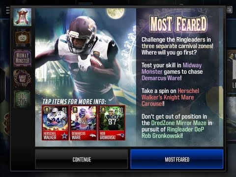 Madden Mobile 17 Most Feared iPad App Review | CrazyMikesapps