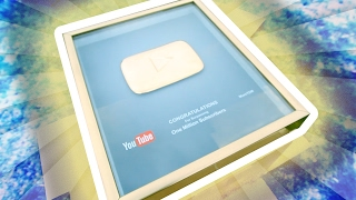 THE SUPER GOLD PLAY BUTTON!!!