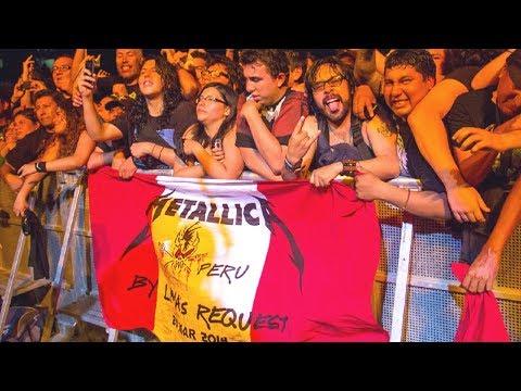 Metallica By Request - Live at Estadio Nacional, Lima, Peru (2014) [Recap]