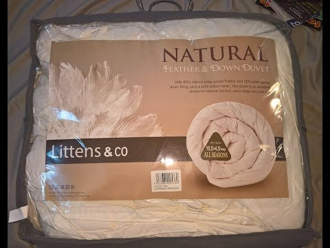Littens Luxury White Goose Feather And Down Duvet Quilt Review