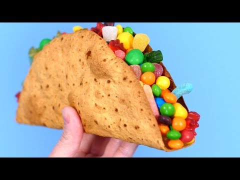GIANT CANDY TACO!