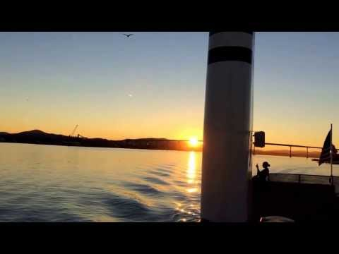 Sunrise on the Coronado Ferry . . .