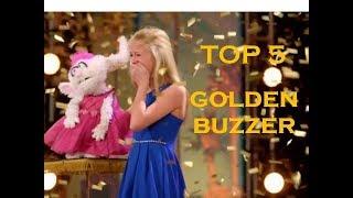 """Top 5 - Go Talent Golden Buzzer """"Botão Dourado"""""""