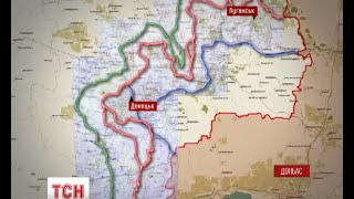 Україна, Росія і терористи ведуть дипломатичні битви за майбутні кордони