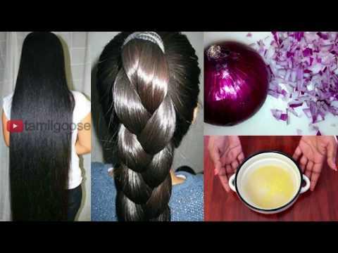 புது முடி அடர்த்தியாக வளர சின்ன வெங்காய எண்ணெய்   Homemade Herbal Hair Oil Preparation