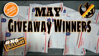 May Giveaway Winners Announcement