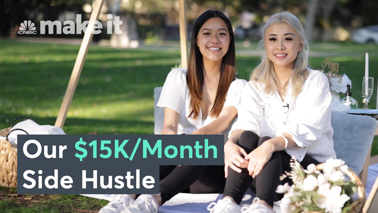 Bringing In $15K A Month Throwing Luxury Picnics | On The Side