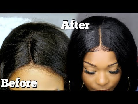 Make Your Lace  Frontal / Closure Look Like Scalp | Hairline Customization | Wig Encounters