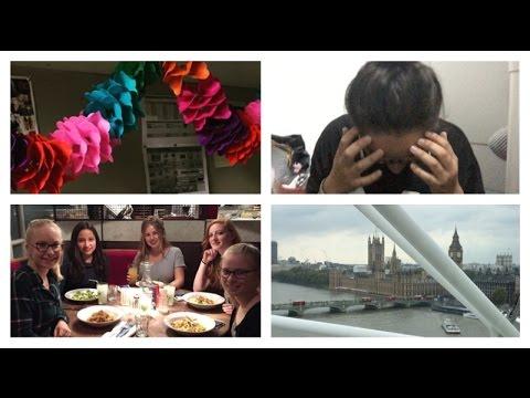 Oxford week 4: Birthday, No Wifi & London Eye