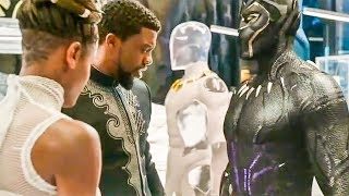 Black Panther 'King Of Avengers' Trailer (2018) Marvel HD