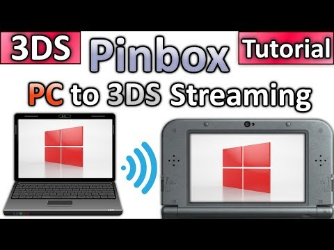 PinBox - PC to 3DS Streaming - Play PC Games/Emulators on your 3DS w/ Xinput Support!
