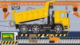 New Truck | Toy Factory - Video for kids | Nowa Ciężarówka z Fabryki Zabawek