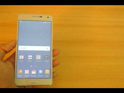 Samsung Galaxy A7 - How To Insert SIM Card & Micro SD Card HD
