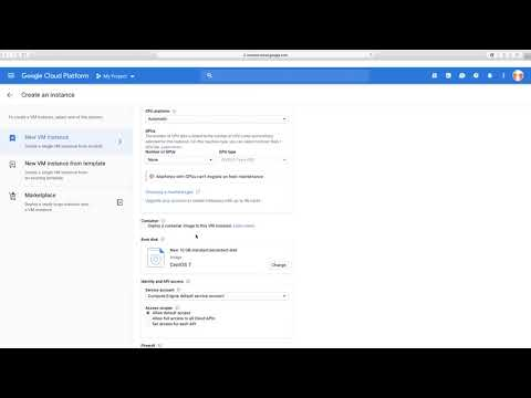 how to launch an instance in gcloud