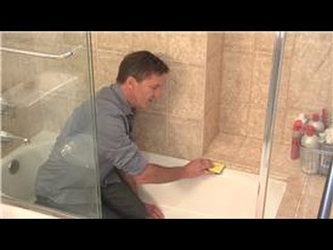 Cleaning Your Shower : How to Clean Rubber Seal Around Shower Doors