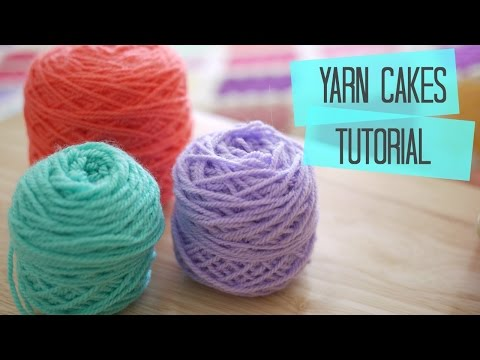 CROCHET: How to make yarn cakes | Bella Coco
