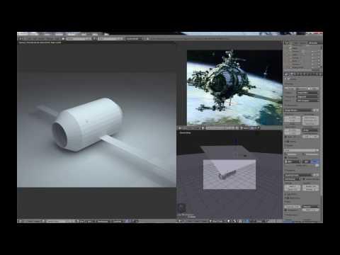 Blender For Noobs - the secrets of Blender Modeling - Part 3 of 14