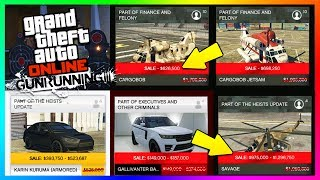 GTA ONLINE GUNRUNNING DLC RELEASE DATE REVEALED? - SECRET GTA 5 BONUSES YOU NEED TO KNOW & MORE!!