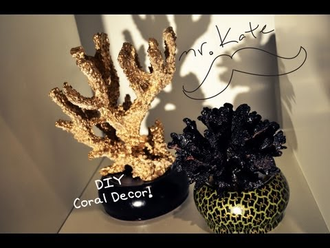 Mr. Kate DIY Aquarium Coral Home Decor