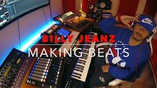 BILLY JEANZ Making a Chill Trap Beat with ☆EMPHASIS KONTAKT
