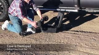 Robot Survives inside Pelican Case run over by Truck