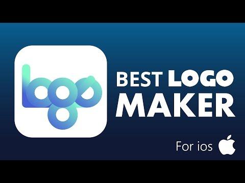 Best LOGO MAKER iPhone App - Logo creator - Poster design - How to create logo in phone