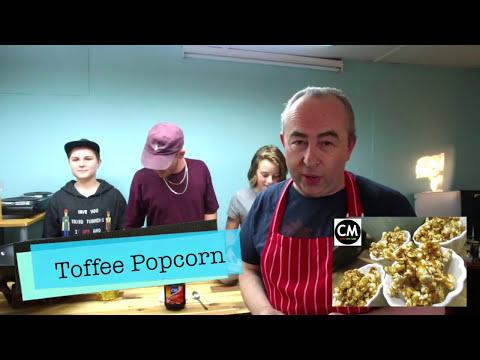Toffee Popcorn Recipe