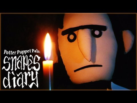 Potter Puppet Pals: Snape's Diary