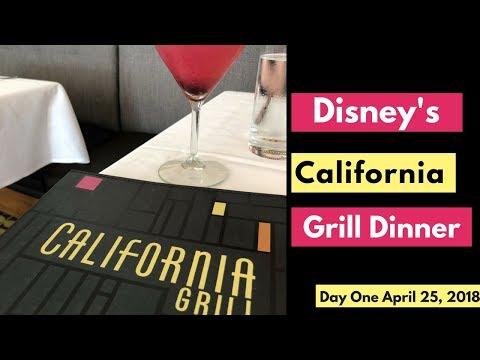 Walt Disney World Vlog: Day 1| California Grill Dinner | April 2018