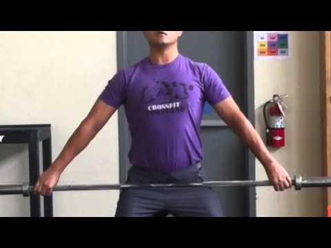 snatch grip width