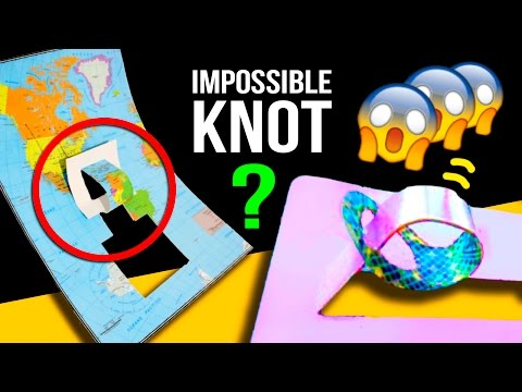 The IMPOSSIBLE knot ✨ Super EASY magic TRICK to IMPRESS your FRIENDS