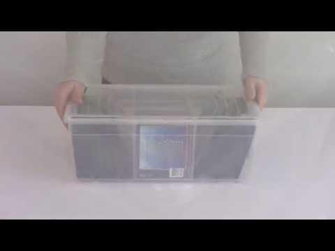 Merveilleux Iris Media Storage Box Small