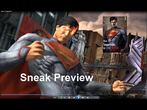 New 52 Superman, Injustice GAU 2.17 Sneak Preview