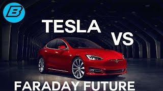 CES 2017 :  FARADAY FUTURE - TESLA