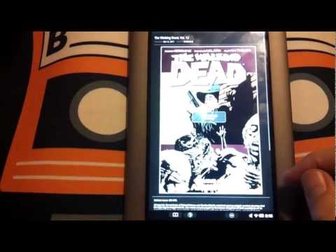 Nook Tablet Graphic Novel