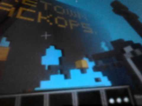 Minecraft poket edition lots of tnt kindle fire