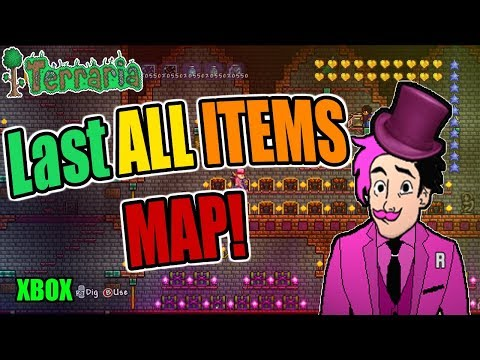 Terraria ALL ITEMS WORLD For XBOX + (DOWNLOAD LINK)